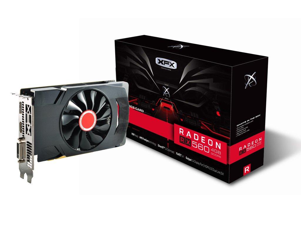 Tarjeta de Video XFX Radeon RX 560 1295MHz 4gb GDDR5