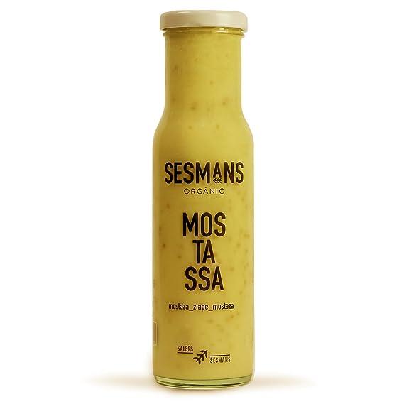 Sesmans, Salsa natural de moztaza - 3 de 240 gr. (Total 720 gr
