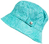 totes Women's Fashion Bucket Rain Hat, G Blue Floral Burst, One Size