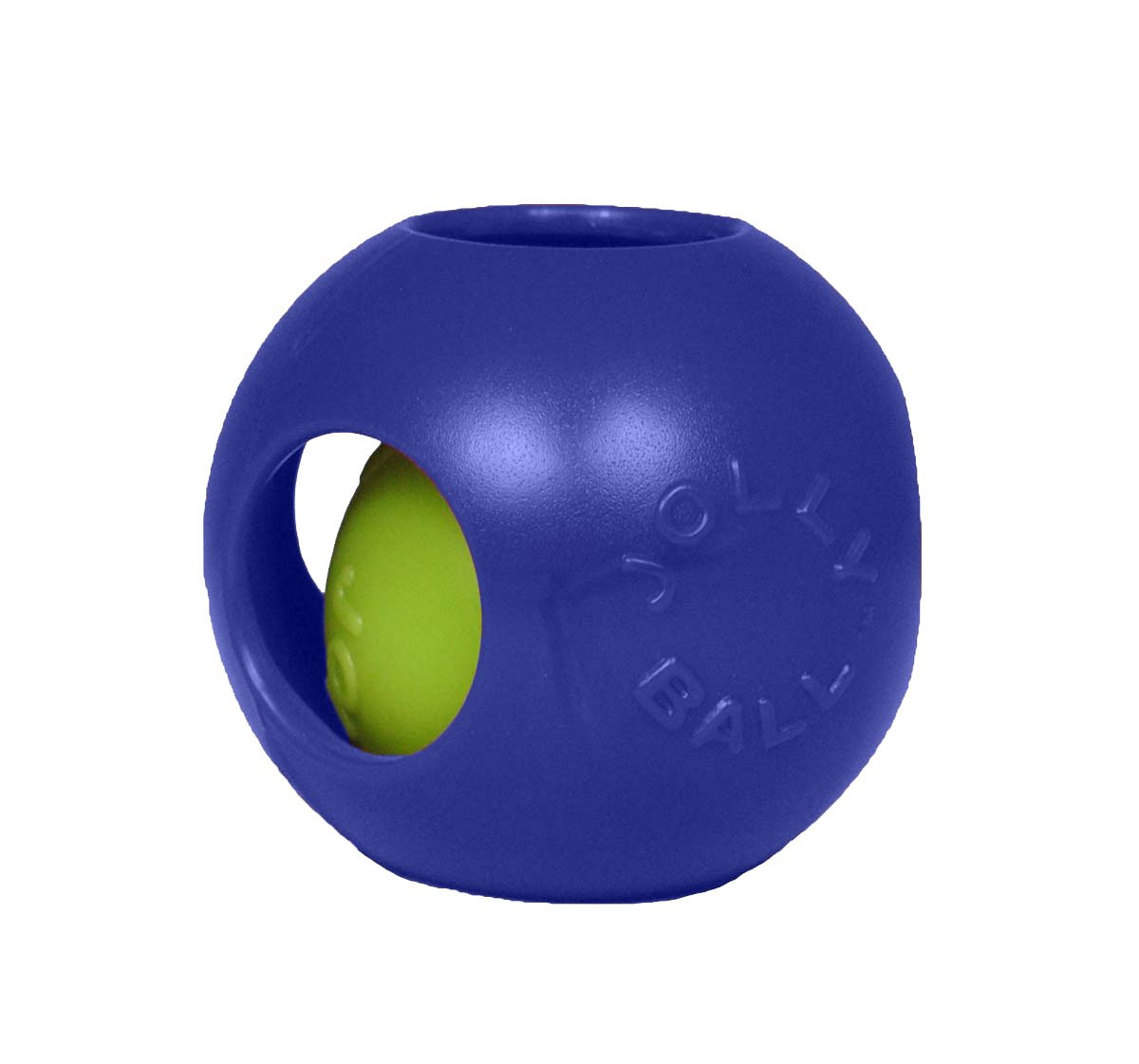 Jolly Pets 8-Inch Teaser Ball, Blue