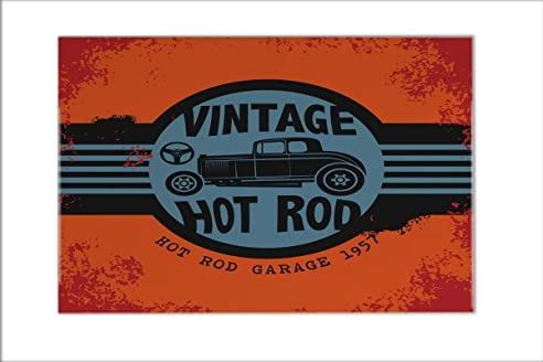 Kachel Voor Garage : Fliese kachel garage vintage hot rod keramik bedruckt 20x30 cm