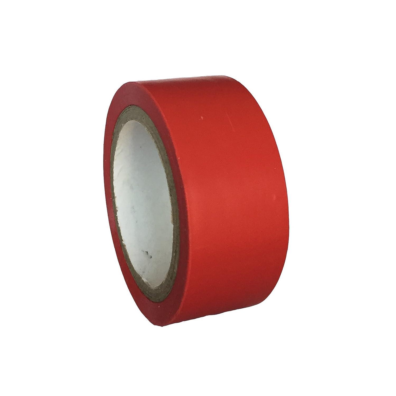 3x 5m en PVC de haute qualité gros Sport Rugby Hockey Chaussettes de Football Protège-tibias de coffre en dentelle ruban de couleur rouge bailey sports therapy