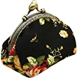 Coin Bag, Xinantime Retro Vintage Flower Small Wallet Hasp Clutch Purse Bag
