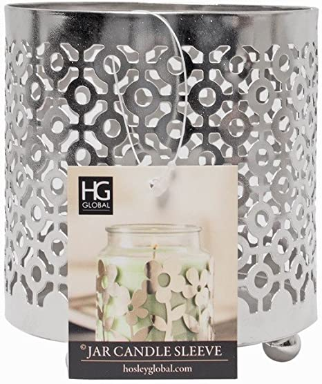 BATH BODY WORKS BRONZE BASKET WEAVE METAL ROUND LARGE 3 WICK CANDLE HOLDER 14.5