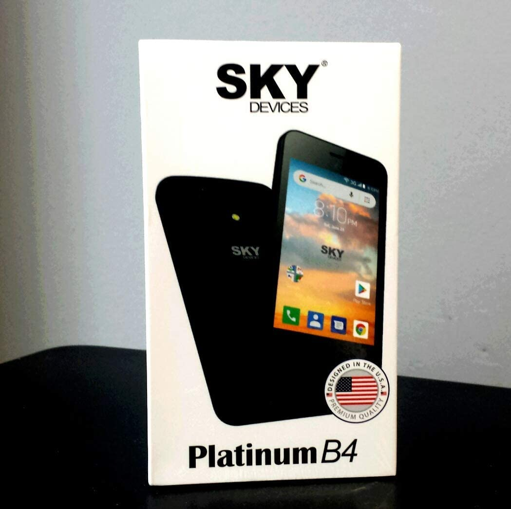 Smartphone Libre Platinum B4 Movil Sky Devices Ruesshop Low Cost ...