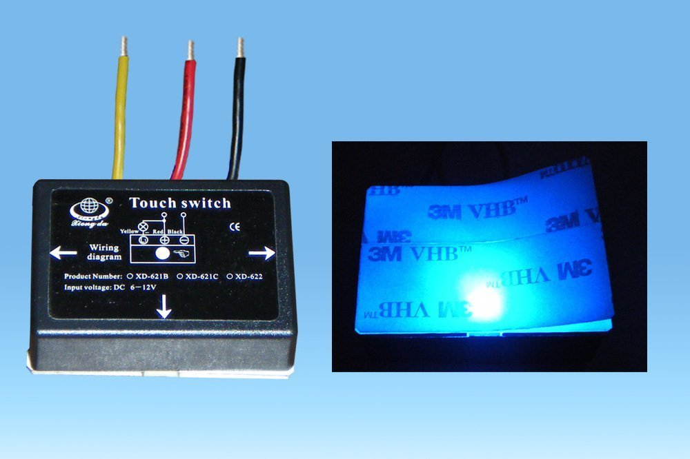 Enjoyable Dc On Off Bathroom Mirror Isolated Touch Switch For Led Light Source Wiring Cloud Venetbieswglorg