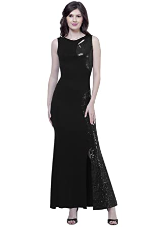 b137cea6f FabAlley Women s A-Line Maxi Dress  Amazon.in  Clothing   Accessories