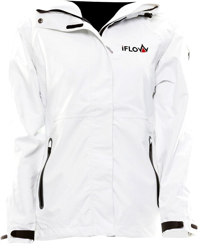 iFLOW Damen Glacier Jacket White Women Ski Jacke:
