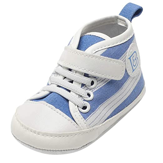 0c7822be5b926 Amazon.com: Baby Infant Boy Girl Walking Shoes 0-18 Months, Toddler ...