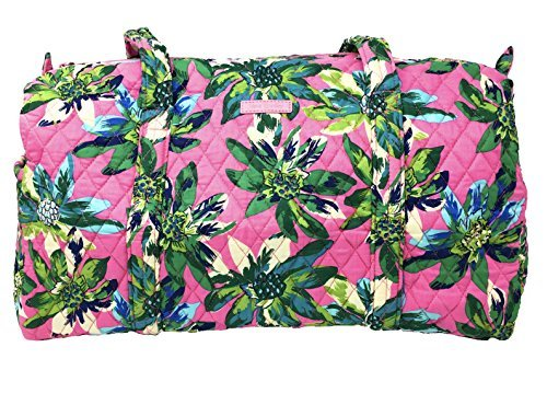 Vera Bradley Small Duffel (Tropical Paradise with Blue Interior)