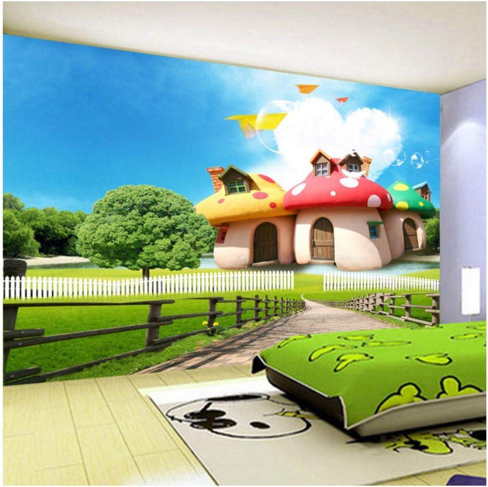 Amazon Com Custom Photo Mural Wallpaper For Kids Room 3d Cartoon