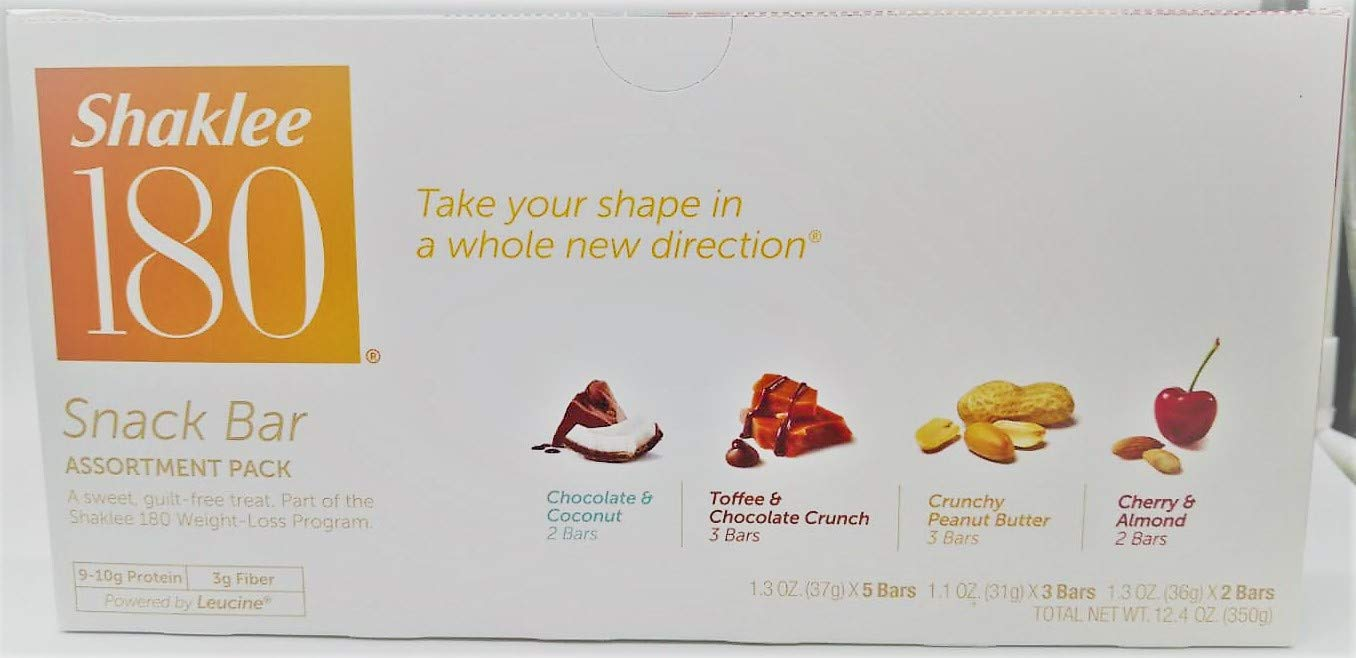 Shaklee 180 Assorted Snack Bars by Shaklee