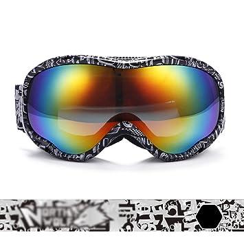 Gafas de esquí Gafas para esquiar: TPU, lentes antivaho dobles, lentes polarizadas,