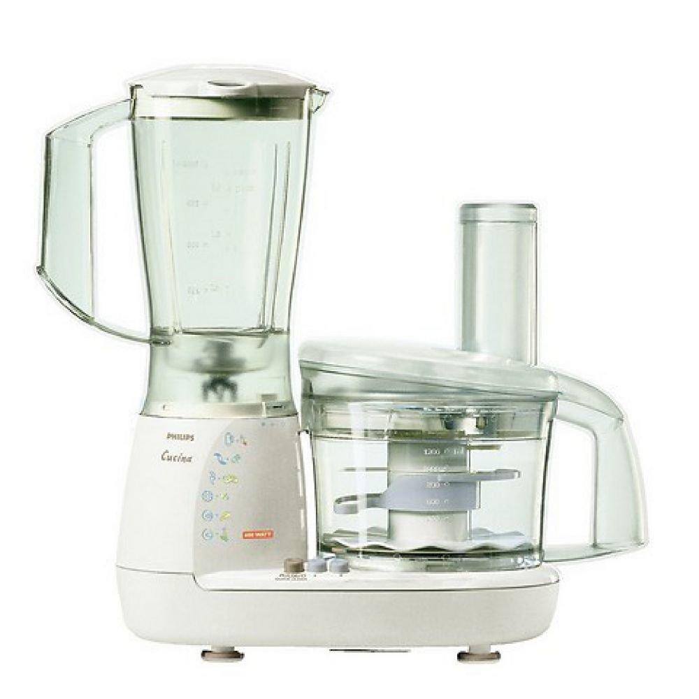 Philips HR7638/80 - Robot de cocina (1,8 L, Blanco, Botones, 150 m, Polipropileno, ABS sintéticos): Amazon.es: Hogar