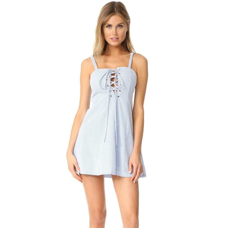 (ソリッド&ストライプ) Solid & Striped レディース 水着ビーチウェア ビーチウェア STAUD Catalina Dress [並行輸入品] B077ZYNRMB