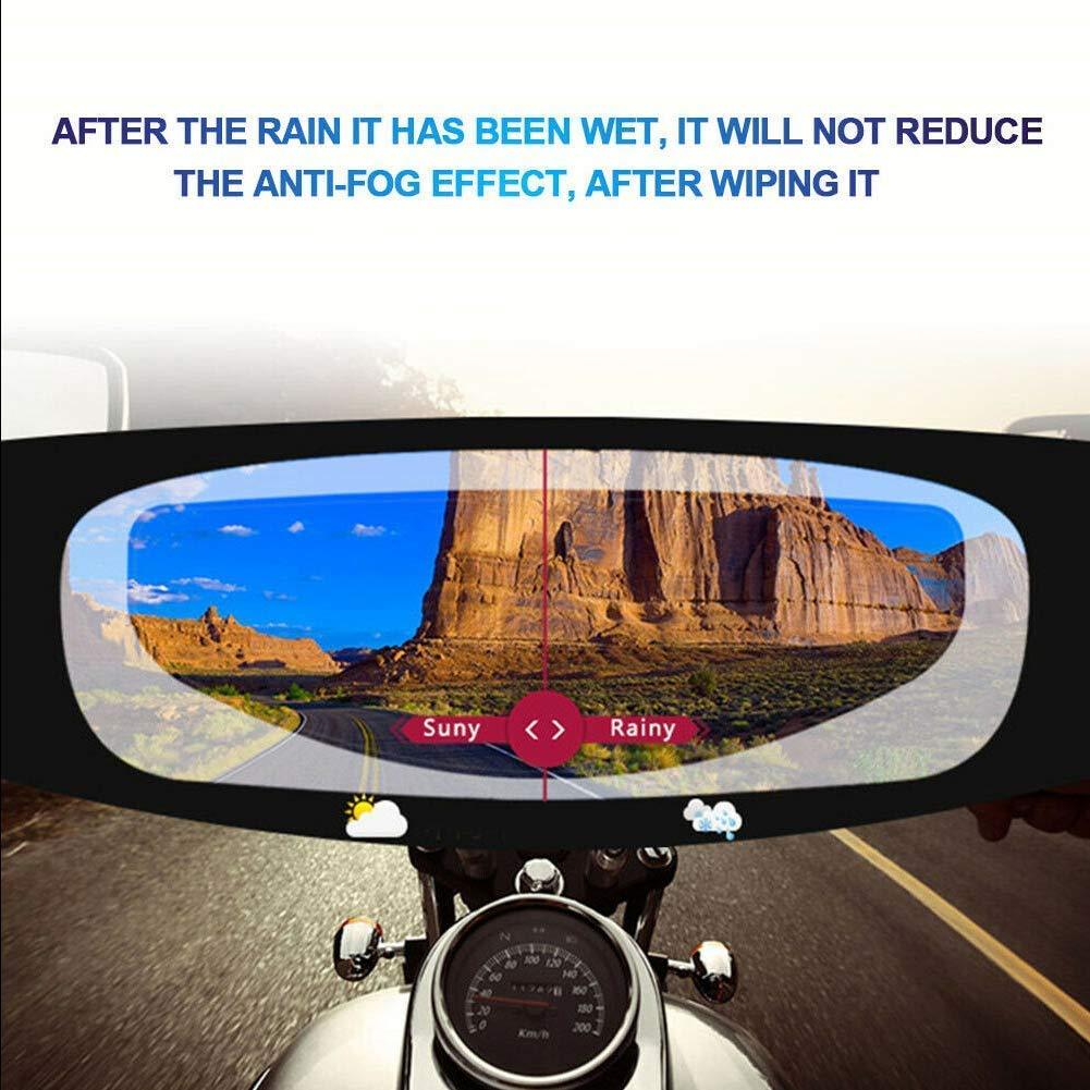 Motorcycle Helmet Lens Anti Fog Film Ultra Clear Mist Visor Goggles Stickers Hvoz Motorbike Helmet Visors Anti-fog Patch
