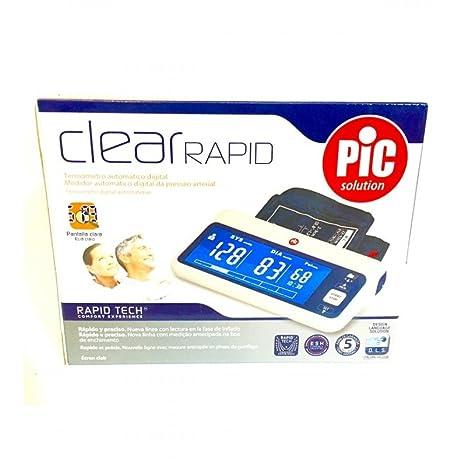 Pic Solution Clear Rapid Tensiometro Digital: Amazon.es: Salud y cuidado personal