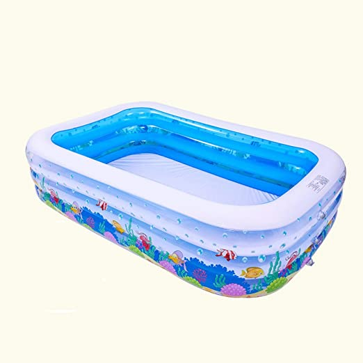 Bañera inflable LCSHAN Piscina Inflable Grande Piscina Inflable ...