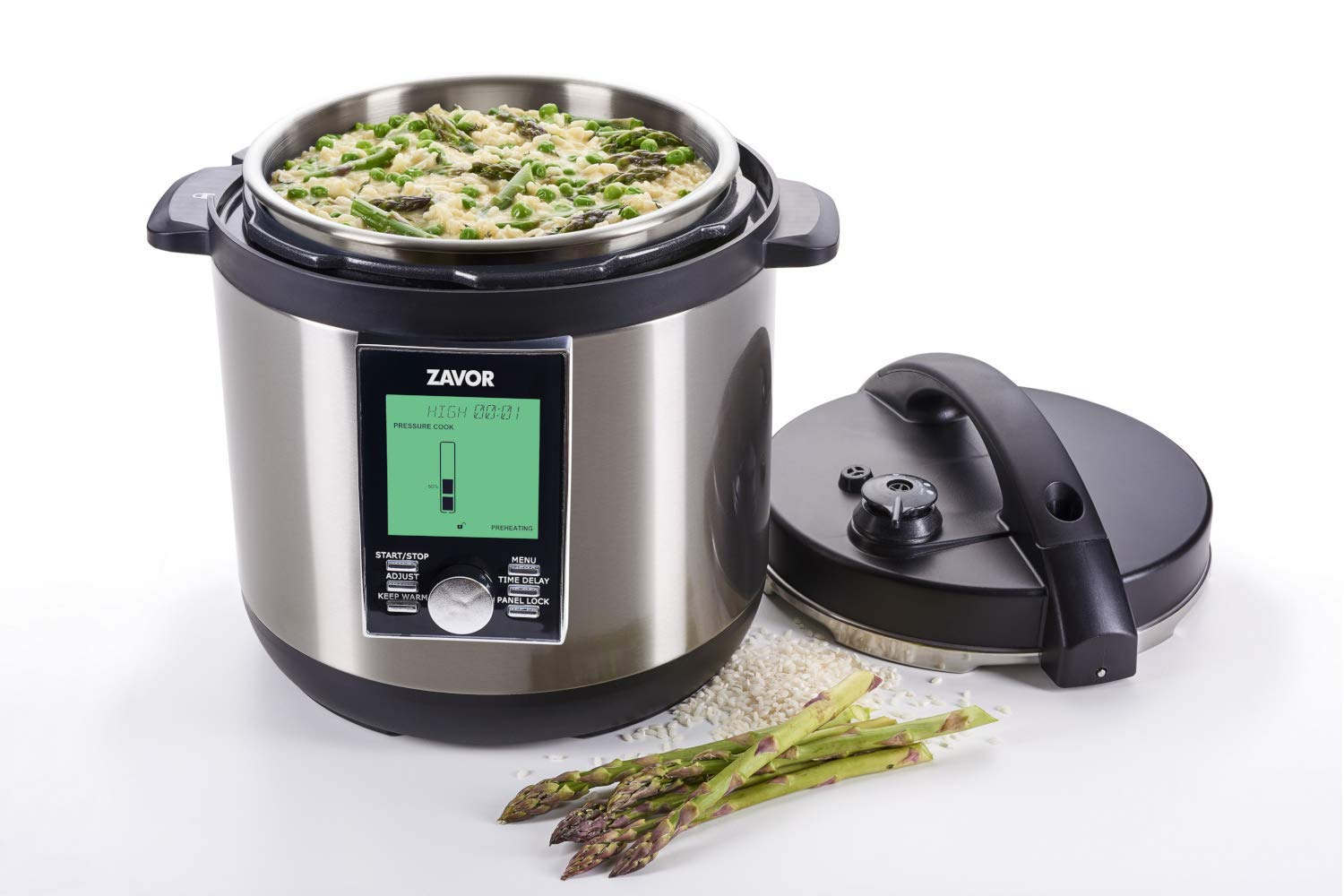 Zavor LUX LCD 6-Quart Programmable Electric Multi-Cooker with Multi-Cooker Perfection Cookbook by Zavor (Image #3)