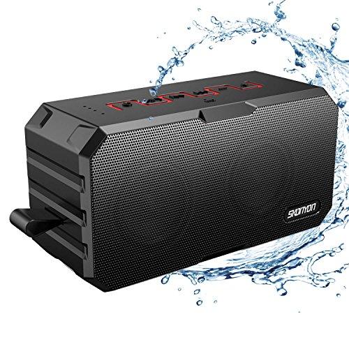 Bluetooth Speakers, Portable Wireless Bluetooth Speakers with Waterproof IP65, Built-in Mic,...