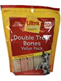 Ultra Chewy Double Treat Bone, 27.7-Ounce Bags (Pack of 3)