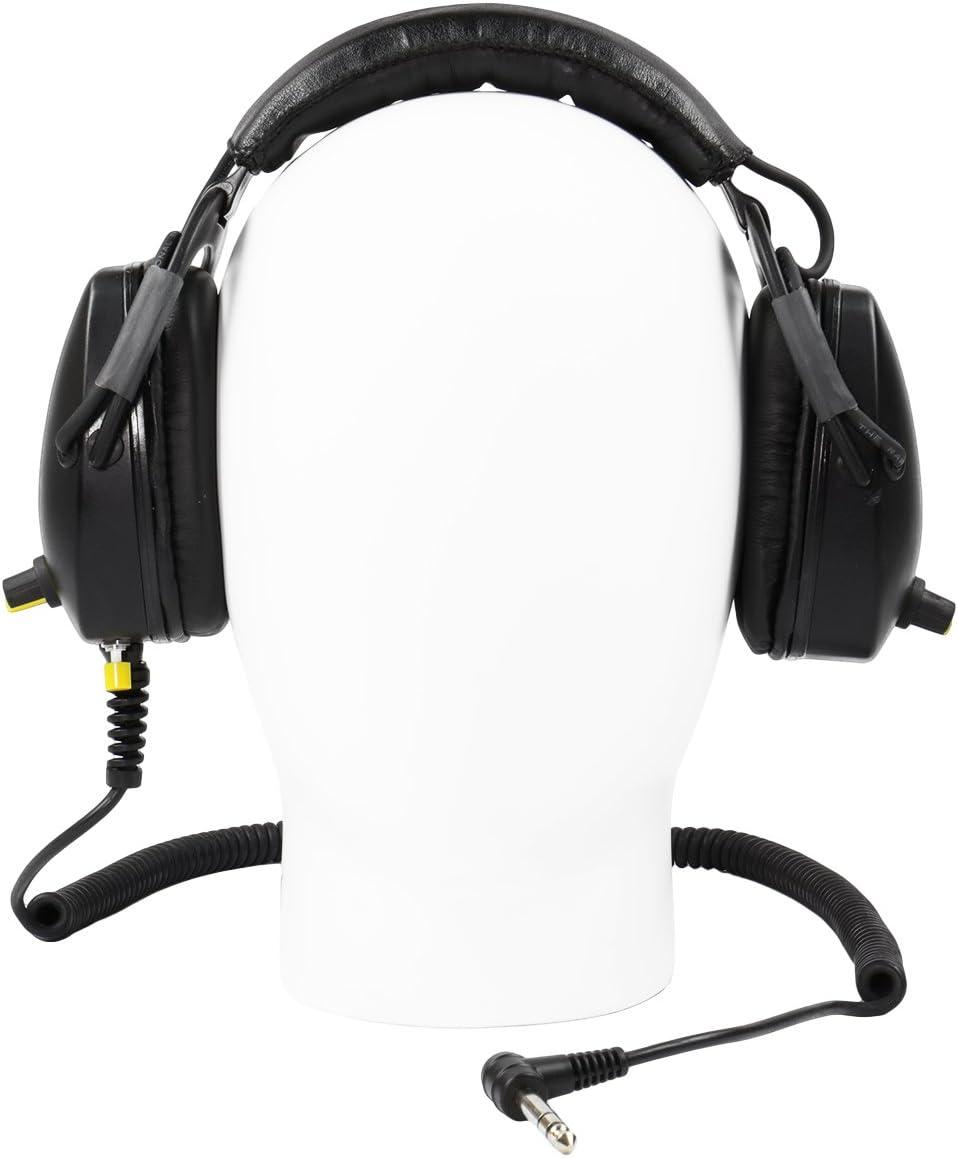 Killer B Hornet Optima Headphones for Metal Detecting fits Various Metal detectors