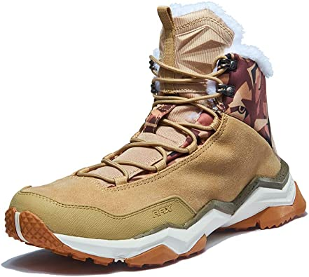 Amazon.com   RAX Men's Winter Snow Boots Hiking Outdoor Shoes with Fully  Fur Lined High Top   Snow Boots