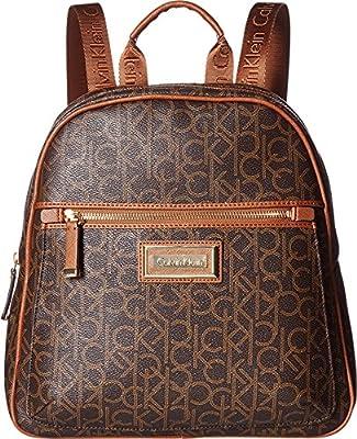 Calvin Klein Womens Dorothy Monogram Backpack