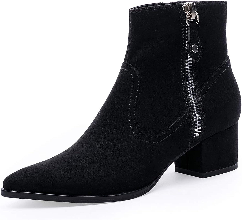 high heel pointed toe booties