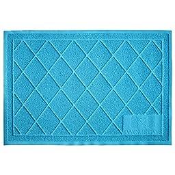 Two Meows Litter Mat / Extra Large / Aqua Blue