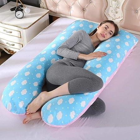 Cuscini A Forma Di Materasso.Hydz Cuscino Di Sostegno Per Dormire Per Donne Incinte Federa In