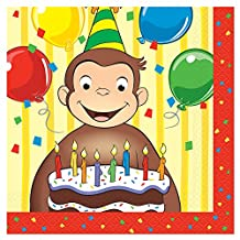 Curious George Party Napkins, 16ct