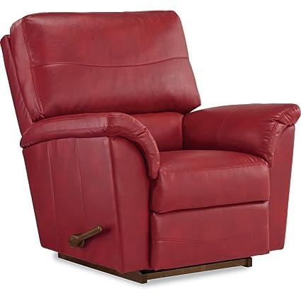 Super Amazon Com La Z Boy Reese Reclina Rocker Recliner Crimson Inzonedesignstudio Interior Chair Design Inzonedesignstudiocom