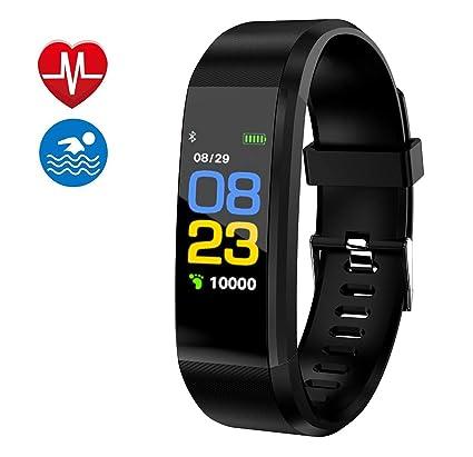 Amazon.com: Monitor de actividad física, reloj inteligente ...