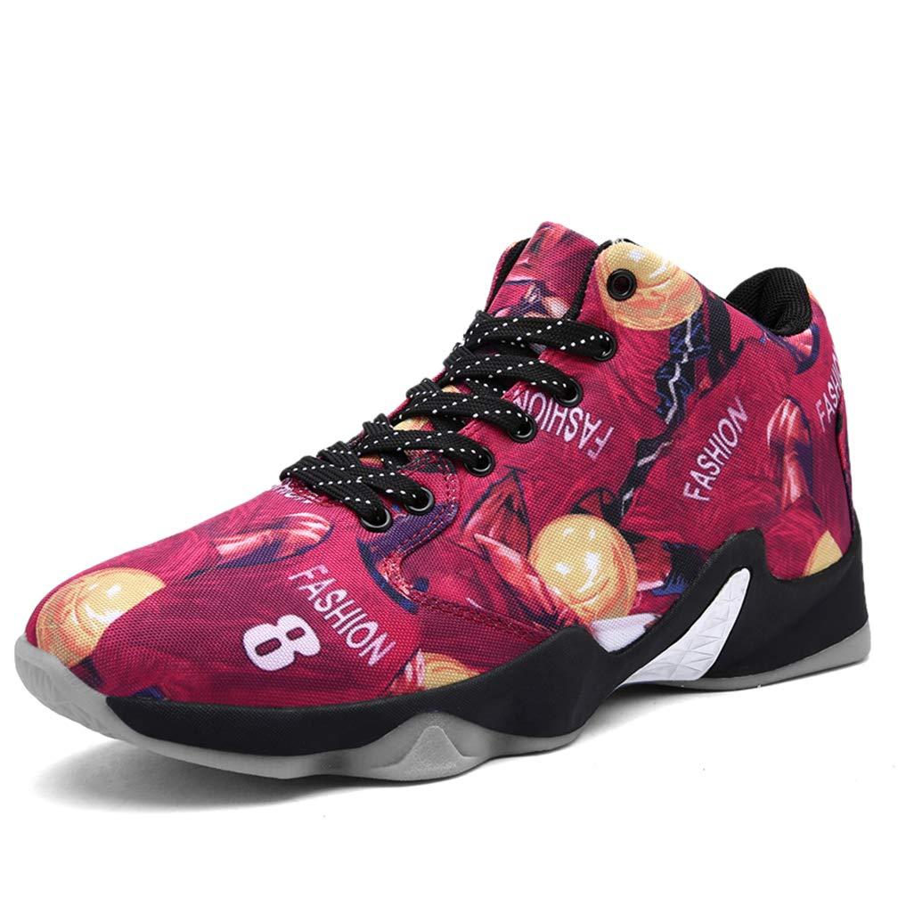 LJG Basketball Basketball Basketball Schuhe MännerSport Trainingsschuhe lässige Sportschuhe Laufen Schuhe hoch, um AtmungsAktive Anti-Rutsch-Luftkissen leichte Wanderung warm zu helfen B07JM9BLXT Basketballschuhe Sehr gute Qualität f14d41