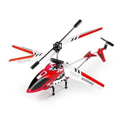 SYMA S107G 3.5Ch 3-Canaux Hélicoptère intérieur Radio Télécommande infrarouge R/C avec Gyroscope – Rouge