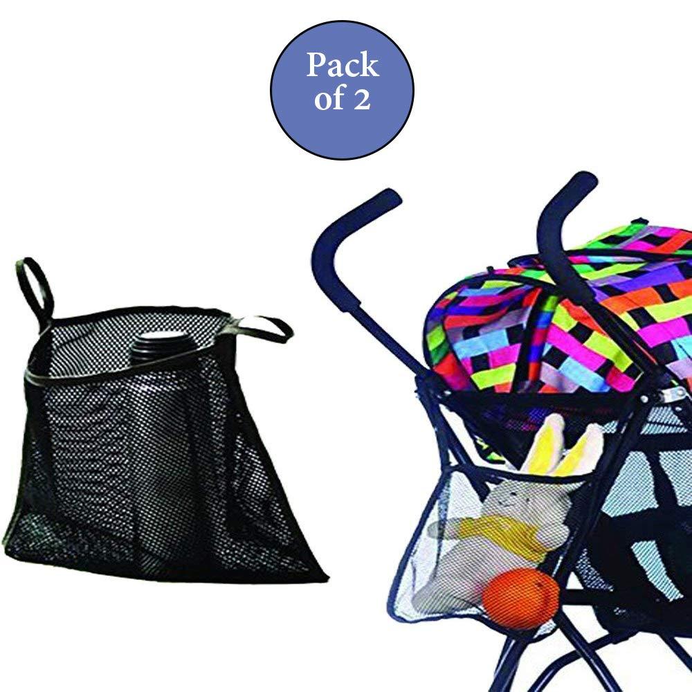 Extra Large Charis Kid Stroller Organizer Mesh Stroller Bag
