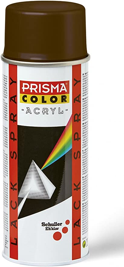 Prisma Color 91331 Lackspray Nussbraun Ral 8011 400 Ml Baumarkt