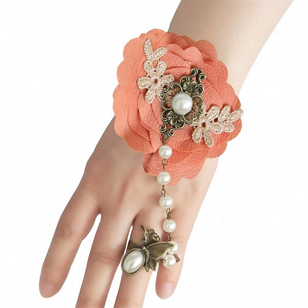 Womens Lace Bracelet Handmade Vintage Lace Bracelets Bangles Party Wrist Jewelry Women Accessories Gothic Jewelry Bracelet for Women WS-285