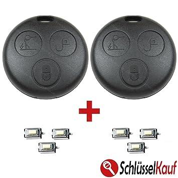 Smart 2x Key Housing Radio Remote Control Housing Amazon Co Uk