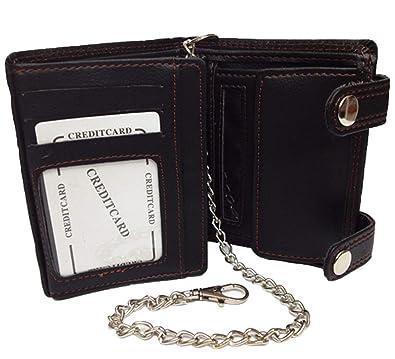 Cartera billetera, motorista billetera, cadena billetera ...