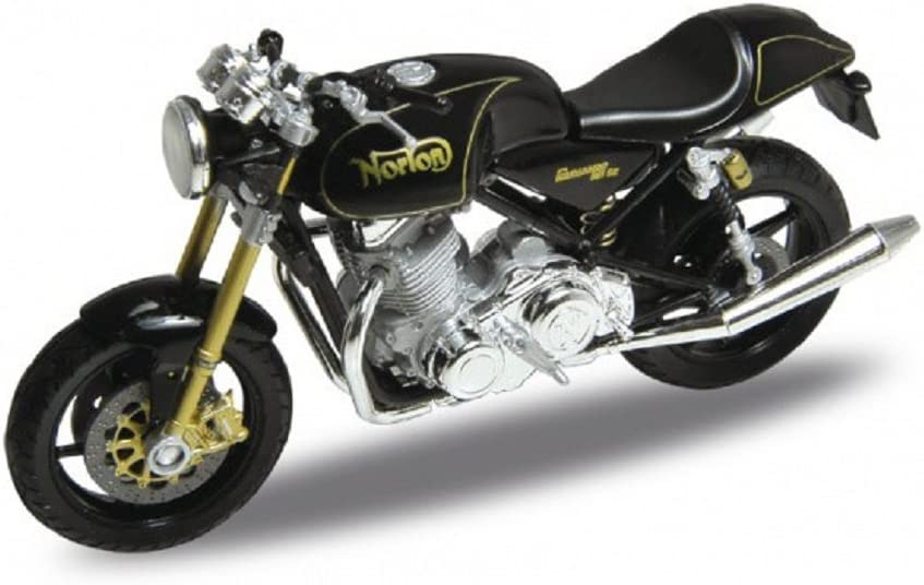 1:18 Welly Norton Commando 961 SE Motorcycle Bike Model Toy New in Box