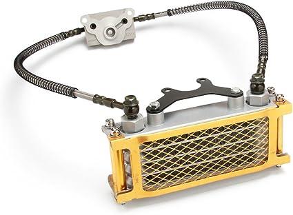 FastPro - Juego de refrigerador de radiador de aceite de motor ...