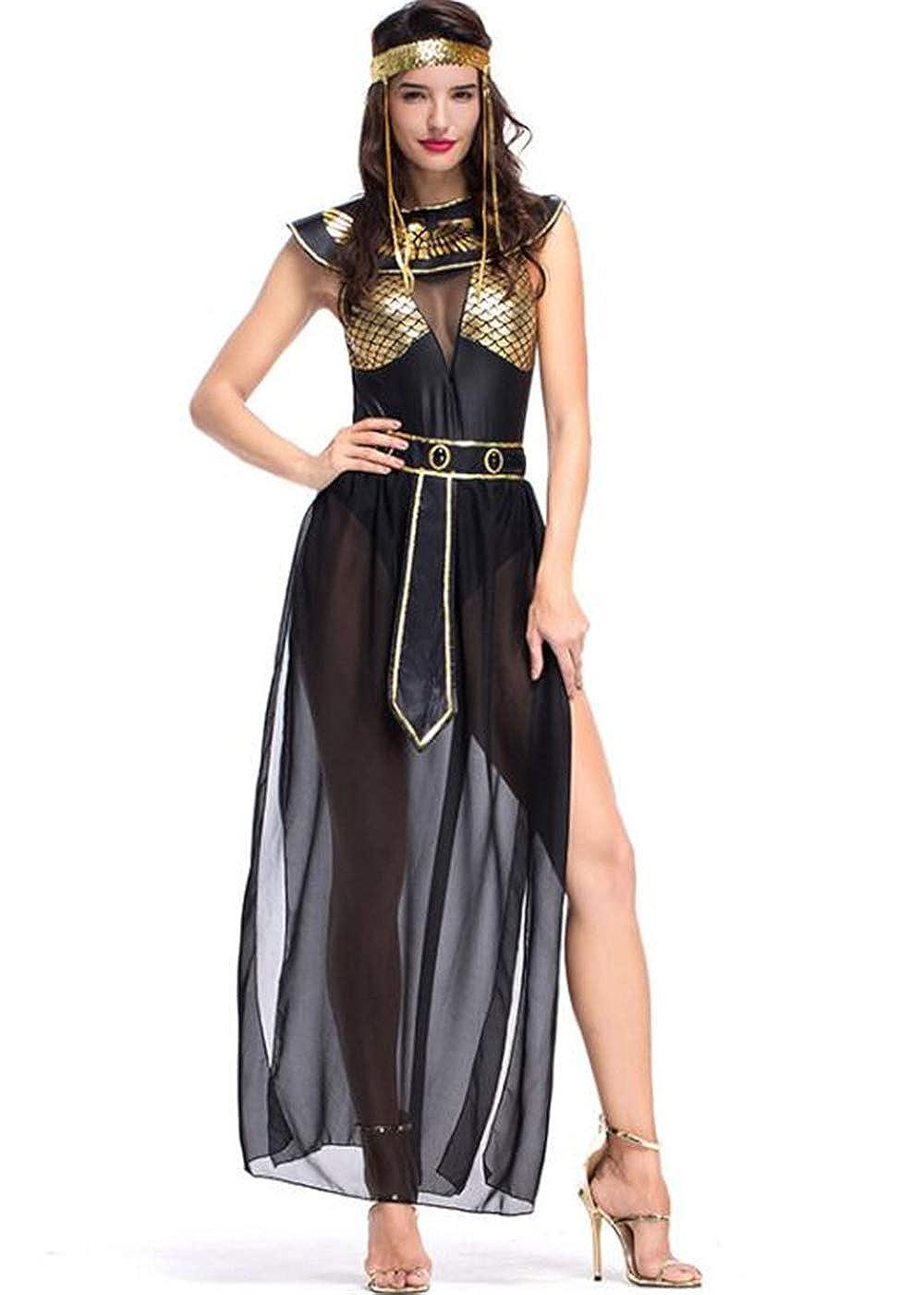 Costumi Halloween 2019 Lidl.Amazon Com Taopleker Women Greek Egyptian Costume Halloween