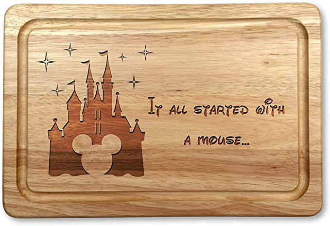 Image ofIt All Started with A Mouse Housewarming - Tabla de cortar de Navidad