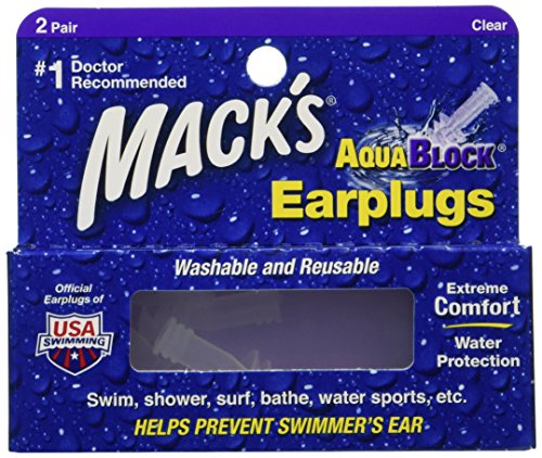 Macks AquaBlock Earplugs pair Pack product image
