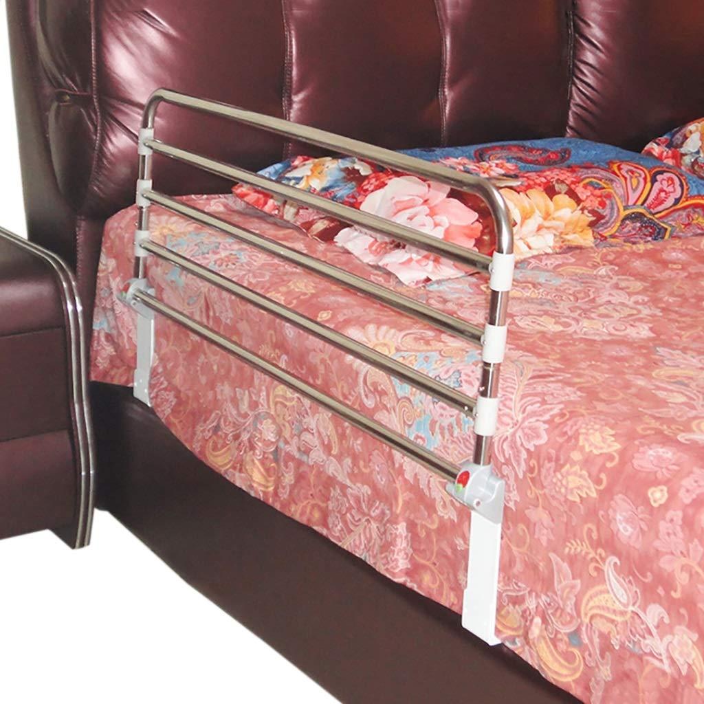 CYYC Barrier Bed Railing, Folding Bed guardrail Side Guard for The Elderly, Adult Handle Handle Hospital Bumper Metal Safety bar (Size : 9550cm)