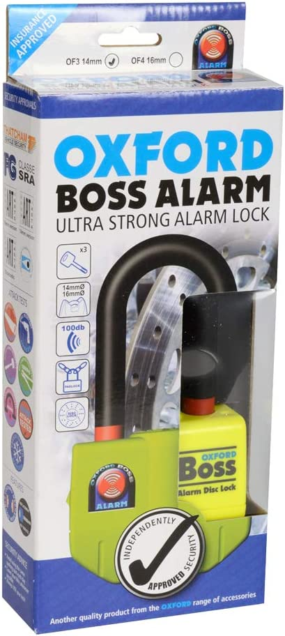 Oxford OF3 Boss Alarm Disc Lock