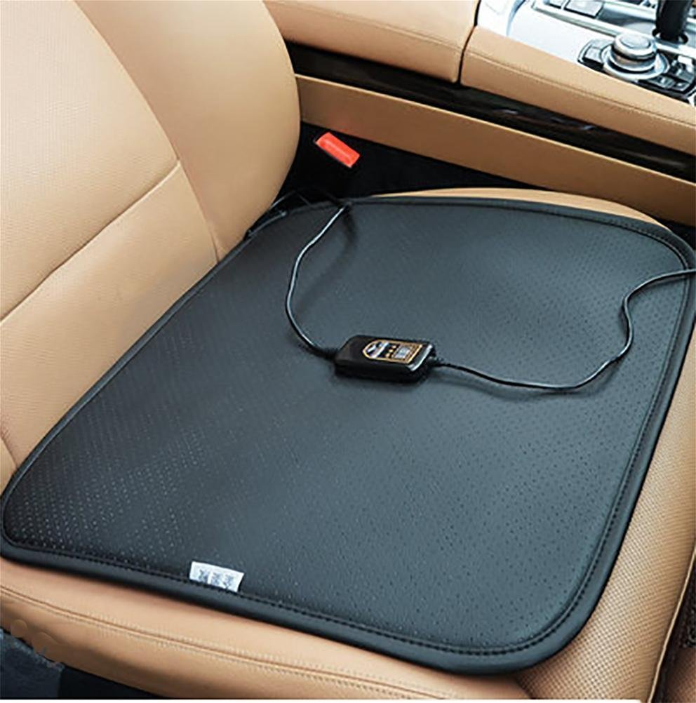 YAOHAOHAO Car seat cushion heated hot hotter-12 V heating pad cover ideal for cold weather conditions and hotter in winter conduct