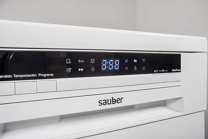 Sauber - Lavavajillas 45 cm SDW45I A++ 11 cubiertos - Acero ...